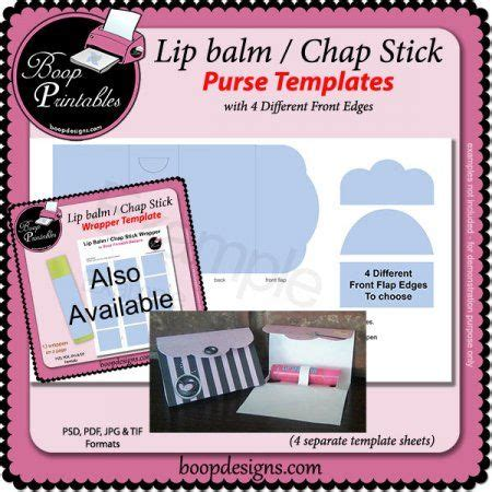 lip balm card holder template 17 best images about paper crafts lip balm cards on