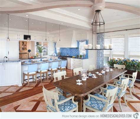 Beach Themed Dining Room | 15 beach themed dining room ideas home design lover