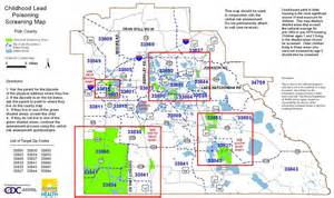 county screening maps florida department of health