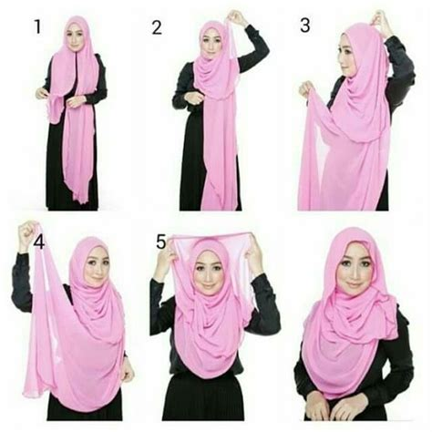 tutorial pashmina loose style hijab loose styles of hijab in trend hijabiworld