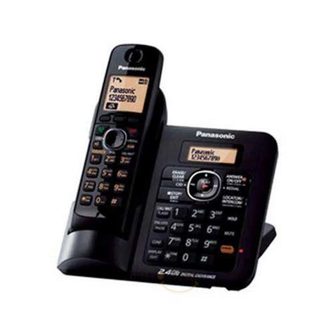Panasonic Wireless Phone Kx Tg1611 Black panasonic kx tg3821 cordless phone black