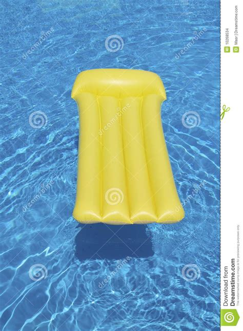 mattress in a pool pool mattress stock images image 10268534