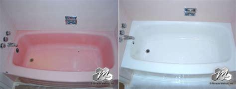 say goodbye to your pepto bismol pink tub miracle