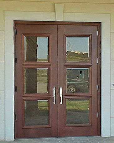 Commercial Exterior Wood Doors Commercial Exterior Wood Doors