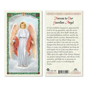 Guardian Novena Guardian Novena Laminated Prayer Card