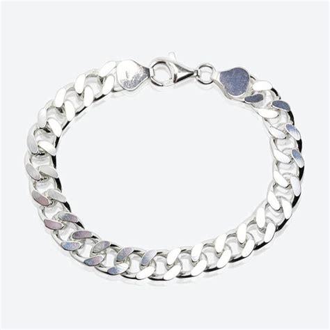 sterling silver s curb bracelet