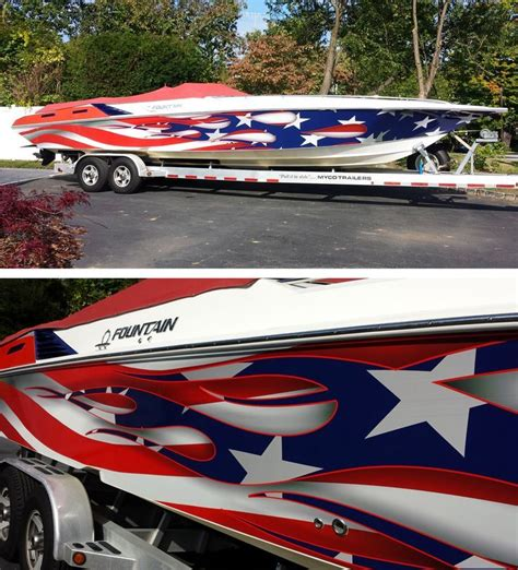 fishing boat paint designs pin by mel raleigh on cool boat stuff boat wraps boat