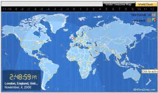 World Clock Map by Free World Clock Wallpaper Download The Wallpaper Download