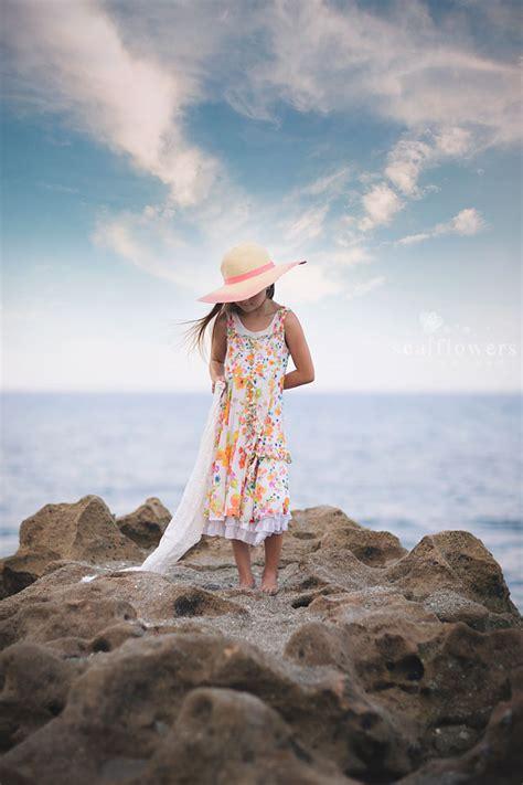 jupiter florida beach photography child children photography sea flowers photography sea