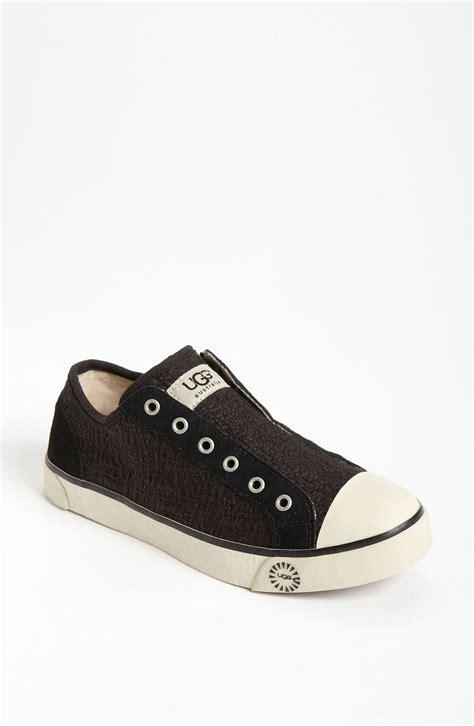 womens sneaker ugg laela heirloom sneaker in black lyst