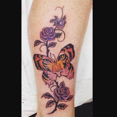 tiger butterfly tattoo 50 tiger butterfly tattoos designs with meanings