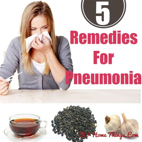 home remedies for pneumonia diy home things