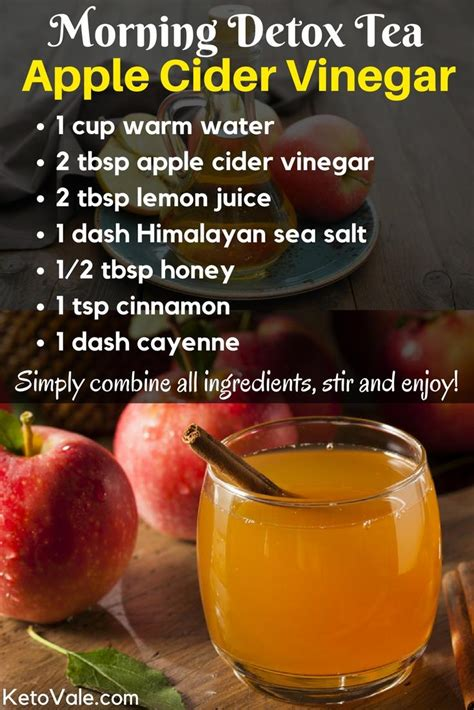 Detox With Apple Cider Vinegar And Honey Recipe by Apple Cider Vinegar Recipe For Detox