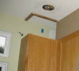 What To Do With The Space Above Kitchen Cabinets remodelando la casa closing the space above the kitchen