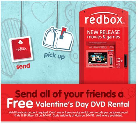 s day rental free redbox rental on s day my frugal