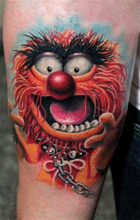 cartoon tattoo artist artist anabi www worldtattoogallery