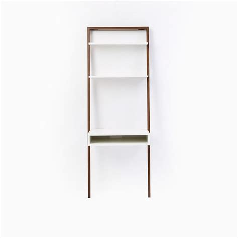west elm ladder desk ladder shelf desk west elm