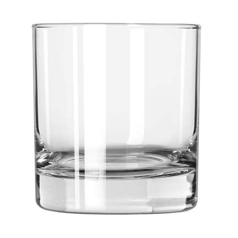 rocks glass libbey 916cd 8 oz heavy base rocks glass finedge