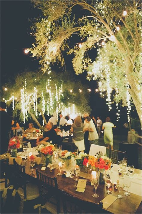 Outdoor Wedding Lighting Ideas 15 Ways To Decorate Your Wedding With Twinkle Lights