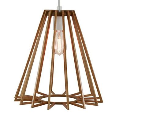 Wooden Ceiling Light Shades Pendant Ceiling Light With Wood Triangle Shade Jcpenney Lighting Home