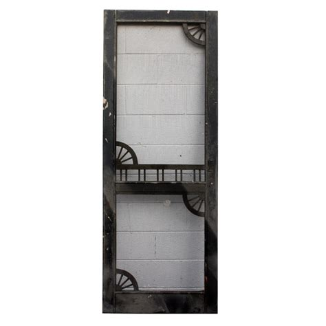 Vintage Screen Doors For Sale by Salvaged Antique 30 Screen Door With Decorative Detail C