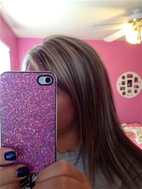 hairstyles do highlights dont show chunky highlight lowlight follow me on instagram and