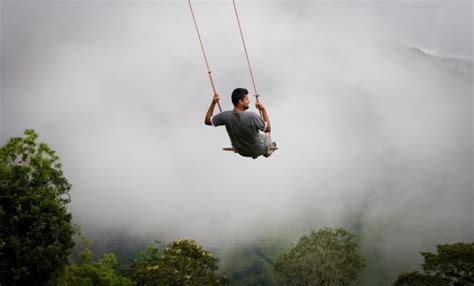 symple swing the wildest swing in your life in ecuador places to see