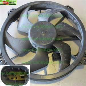 Peugeot 307 Engine Coolant Peugeot 307 Cooling Fan Second From Large Used Car