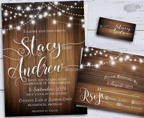best 25 backyard wedding invitations ideas on