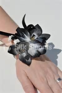 black and white corsage beautiful wedding corsage with black and white cymbidium orchid beautiful wedding corsage with