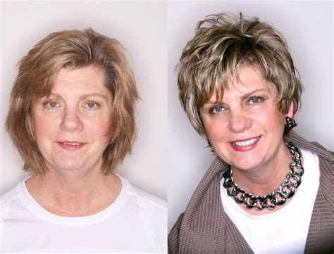 before and after hair styles of faces before and after hair styles michael christopher