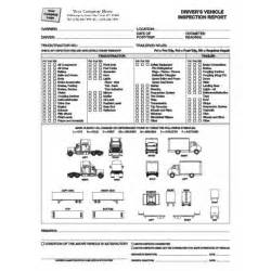 Wheels Truck Checklist Automobile Forms Standard Forms