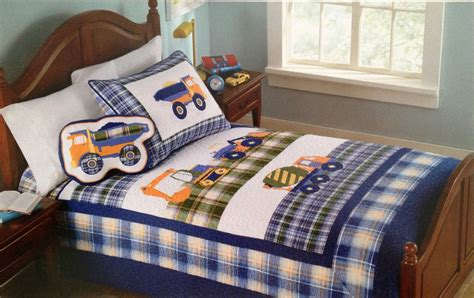 truck bedding set childrens bedding for boys construction zone kids bedding