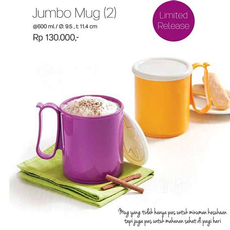 Tupperware Jumbo Mug pin tupperware indonesia katalog ajilbabcom portal on