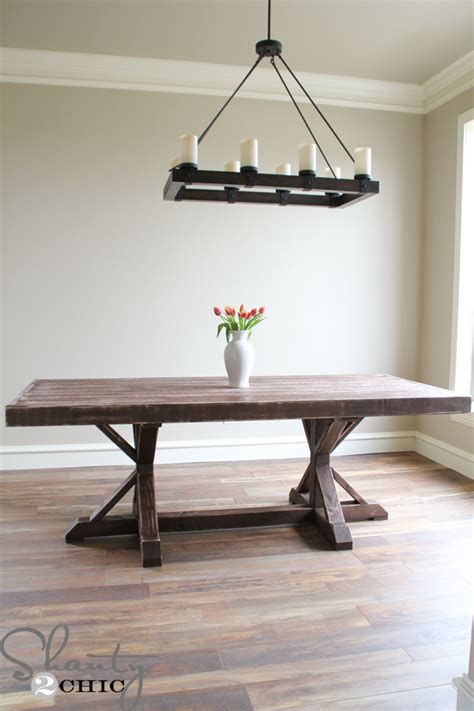 dining table restoration hardware restoration hardware inspired dining table for 110