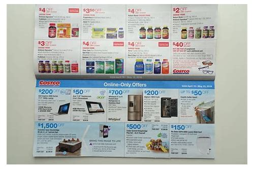addicted to costco coupon book april 2018