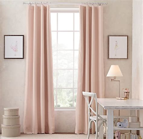 Blush Pink Curtains Blush Pink Curtain Panels Curtain Menzilperde Net