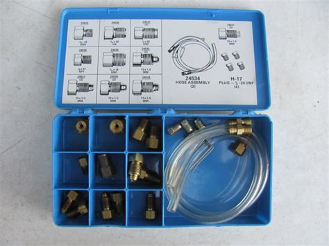 bench bleeding kit brake master cylinder bench bleeder kit metric sae