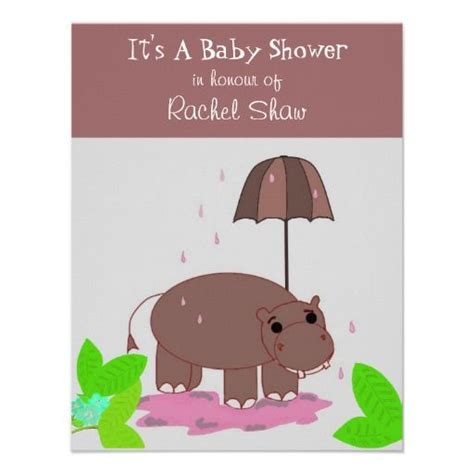 Hippo Baby Shower Invitations by 20 Best Hippo Baby Shower Invitations Images On