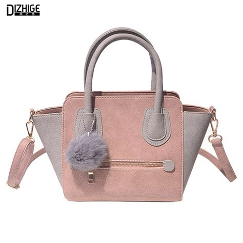 Fashion Bag 588 1 2016 smiley pu leather tote bag trapeze fashion designer handbags high quality