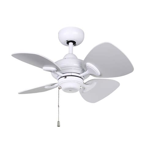 White Ceiling Fan No Light Designers Choice Collection Aires 24 In White Ceiling Fan Ac16324 Wh The Home Depot