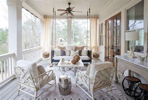 veranda shabby chic rideau v 233 randa et voilages ext 233 rieurs pour rafra 238 chir l espace