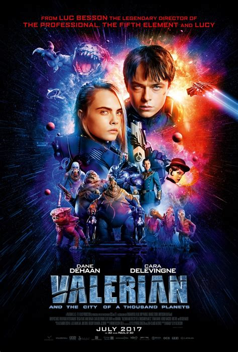 And The City The On Dvd by Valerian And The City Of A Thousand Planets Dvd Release
