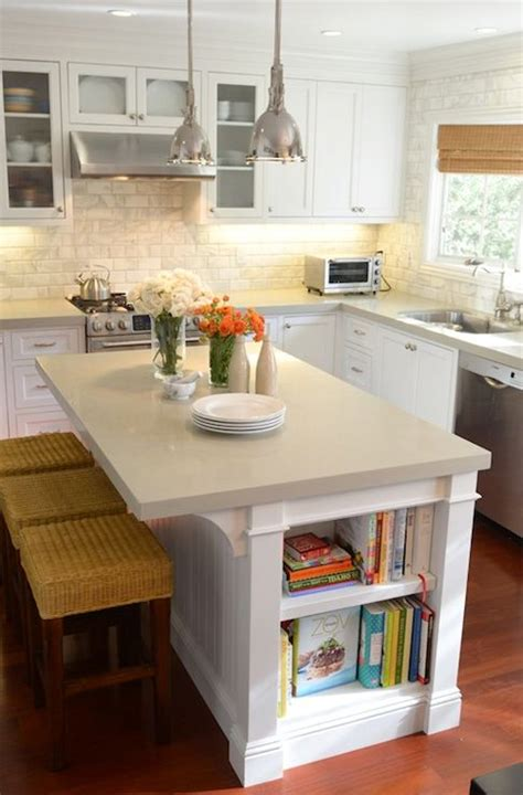 L Shaped Kitchens With Island L Shaped Kitchen With Shaker Kitchen Cabinets Paired With Gray Quartz Countertops And