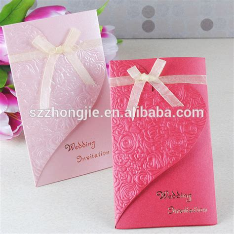 Handmade Invitation Cards Designs - handmade wedding card design wedding invitation