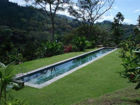 how long is a lap pool 30 awesome narrow pools for the tightest spaces digsdigs