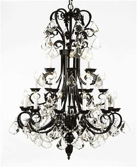 Large Chandeliers For Foyers Large Foyer Entryway Wrought Iron Chandelier Traditional Chandeliers By Gallery