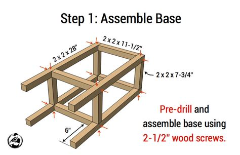 Build A Simple Stool by Easy Diy Wood Building Projects Noxad Org
