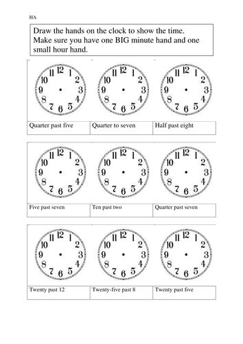 time to 5 minutes worksheet number names worksheets 187 telling time to 5 minutes