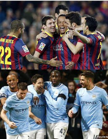 Kaos Manchester City The Citizen Simply City 2 Cr manchester city dan barcelona yakin sama sama kuat di liga